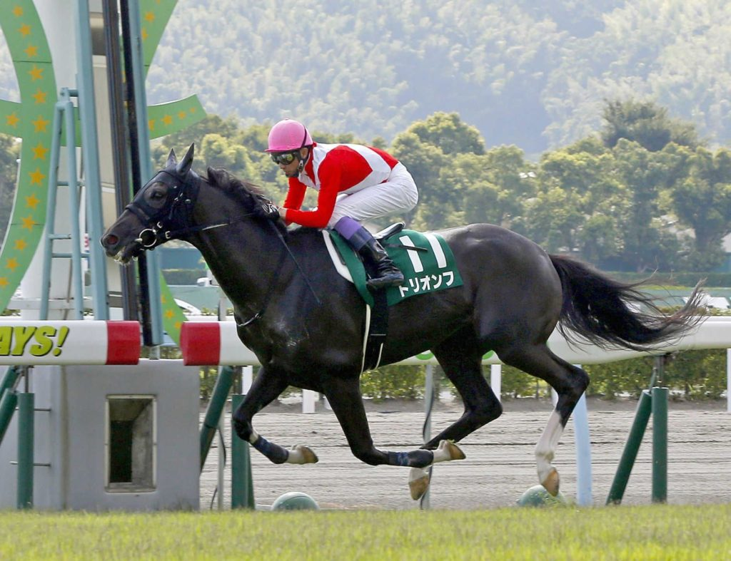 小倉記念の昨年の覇者「トリオンフ」